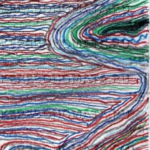 руно, резонансная графика, абстракция, пастель